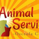 Animal Services logo with a sun in the background.