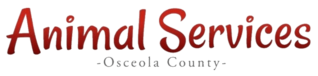 Animal Services Osceola County words only logo