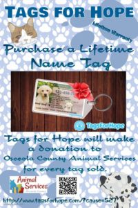 Tags for Hope flyer