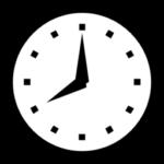 Graphic of clock.