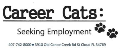 Career Cats Seeking Employment logo
