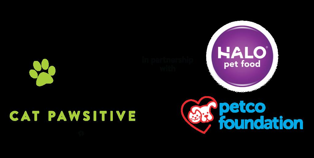 Jackson Galaxy Project, Halo, Petco Foundation logos