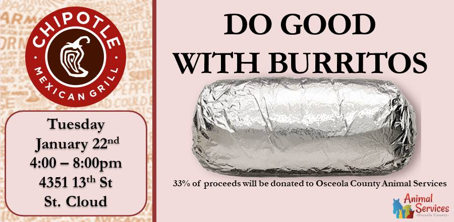 Chipotle fundraiser slider January 22 2019