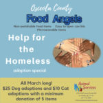 Osceola Food Angels help for the homeless special - $20 dog; $15 cat
