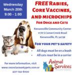 Kenansville Vaccine Clinic 03_20_19 flyer