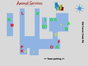 Animal Services facility map