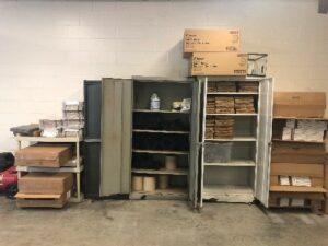Sally port storage
