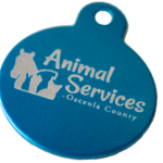 Osceola County Animal Services generic pet tag
