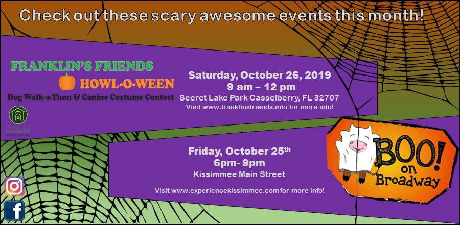 October 2019 off site events