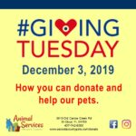 Giving Tuesday donation poster