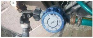 Sprinkler control dial