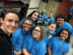 Community Appreciation Day teen volunteers 2019