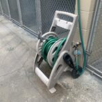 Outdoor cleaning hose