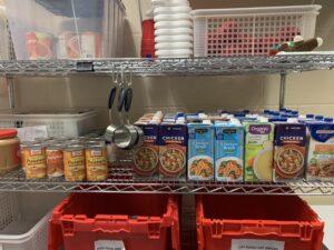 Supply room - food storage