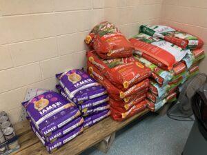 Supply room - bagged food