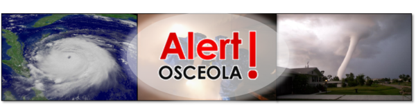 Alert Osceola banner and link