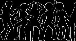 Dancers illustration 1970's