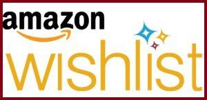 Amazon wishlist icon and link