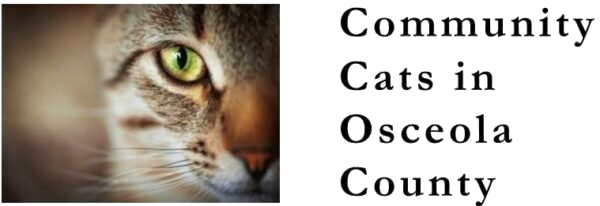 Community Ctas in Osceola County logo - close up of cat's face