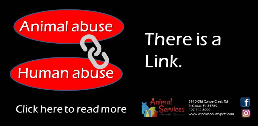 Animal and human abuse link slider and web link